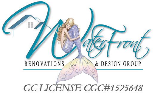 Waterfront Renovations Design Group Logo